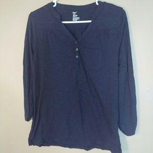 GAP Small Blue Long Sleeved Shirt